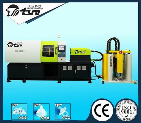 95T卧式液态硅胶注射成型机-TYM-W3535