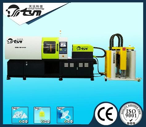 120T卧式液态硅胶注射成型机-TYM-W4040