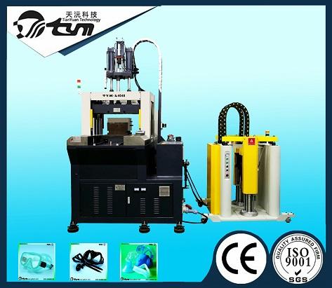 150T立式双滑板液态硅胶设备-TYM-L6068-2