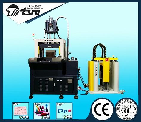 150T立式双滑板液态硅胶机-TYM-L6068-2