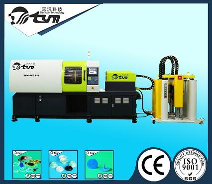 卧式液态硅胶注射成型机-伺服系统-95吨 TYM-W3535