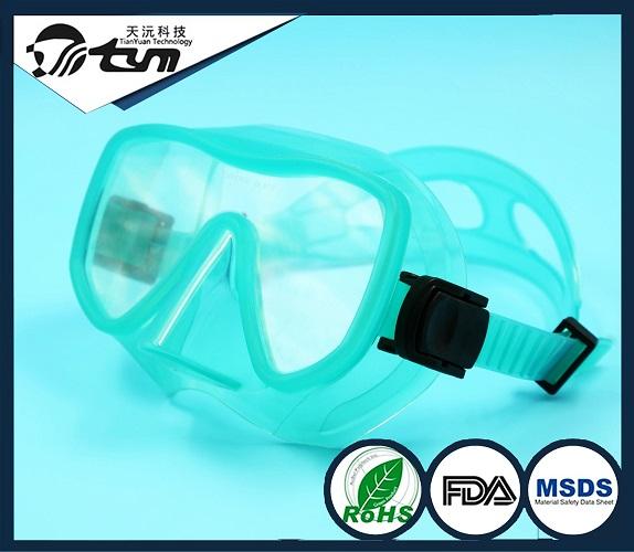 潜水类硅胶潜水镜代加工
