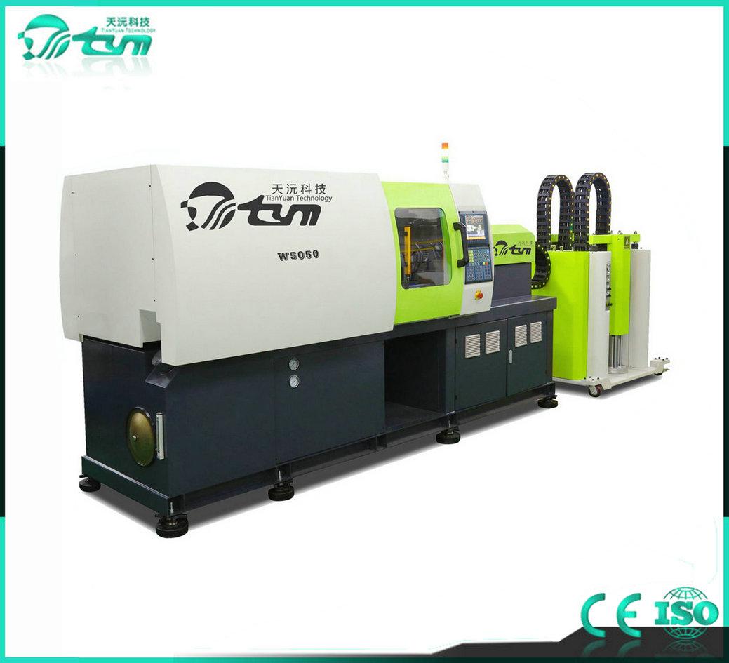 卧式液态硅胶注射成型机-伺服系统-120吨TYM-W4040