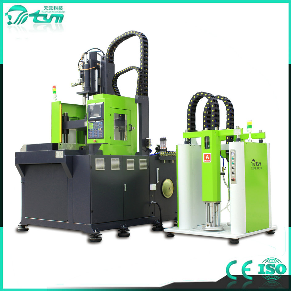 立式双滑板液态硅胶设备-伺服系统-130吨 TYM-L5058-2