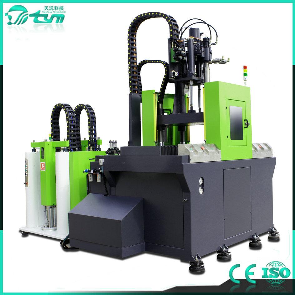 95T立式双滑板液态硅胶注射成型机-TYM-L4048-2