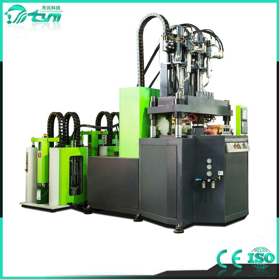 立式双色液态硅胶注射成型机TYM-LS1000-160T